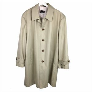 Jos A Bank Trench Coat Size 44R